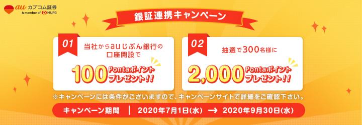 Au じ ぶん 銀行 キャンペーン Auじぶん銀行、行名変更1周年記念で合計12のキャンペーンを実施